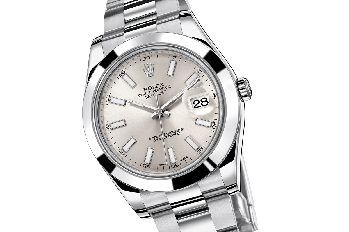 A modern 2012 edition of the 41mm Datejust 2