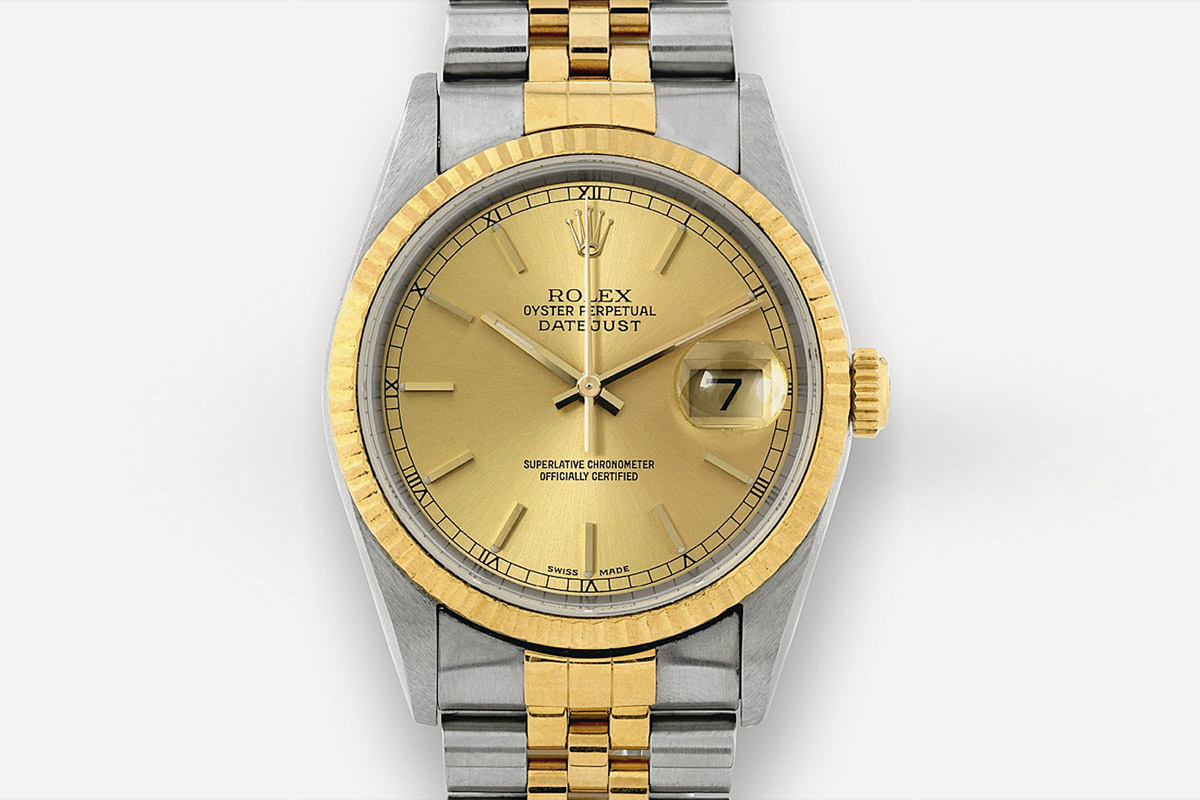 Rolex Datejust 2003 Two Tones