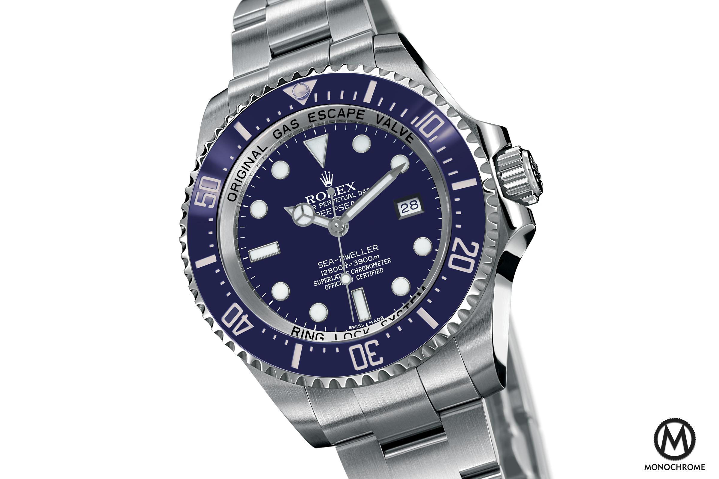 Rolex Deepsea Blue - 2