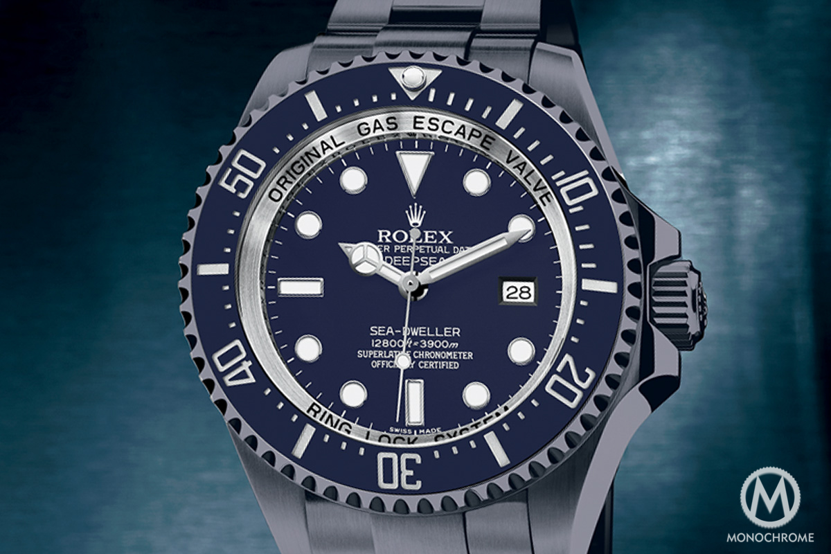 Rolex Sea-Dweller Deepsea Blue - 4