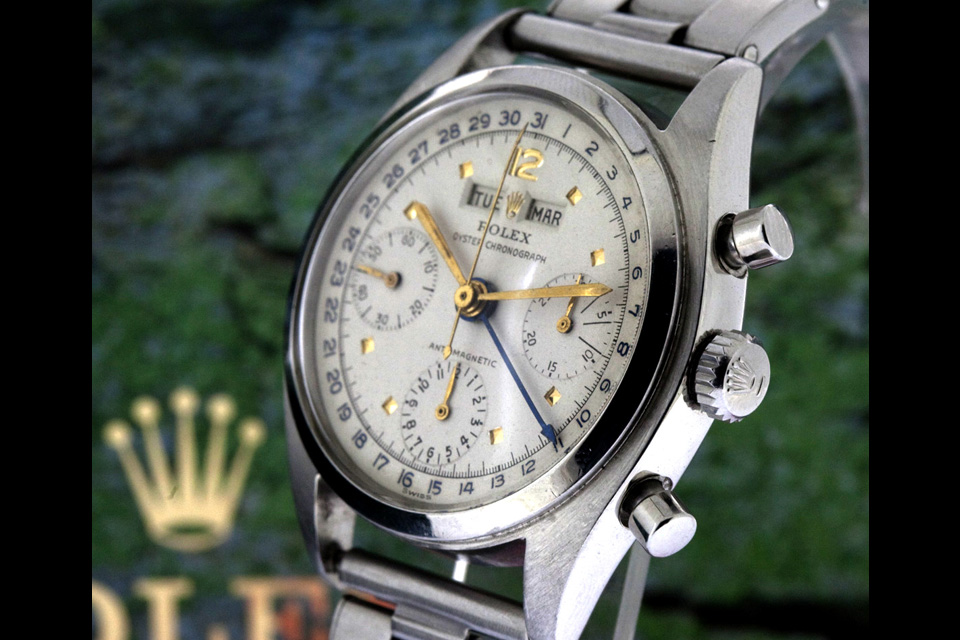 Rolex datocompax ref 6036 steel killy - 1