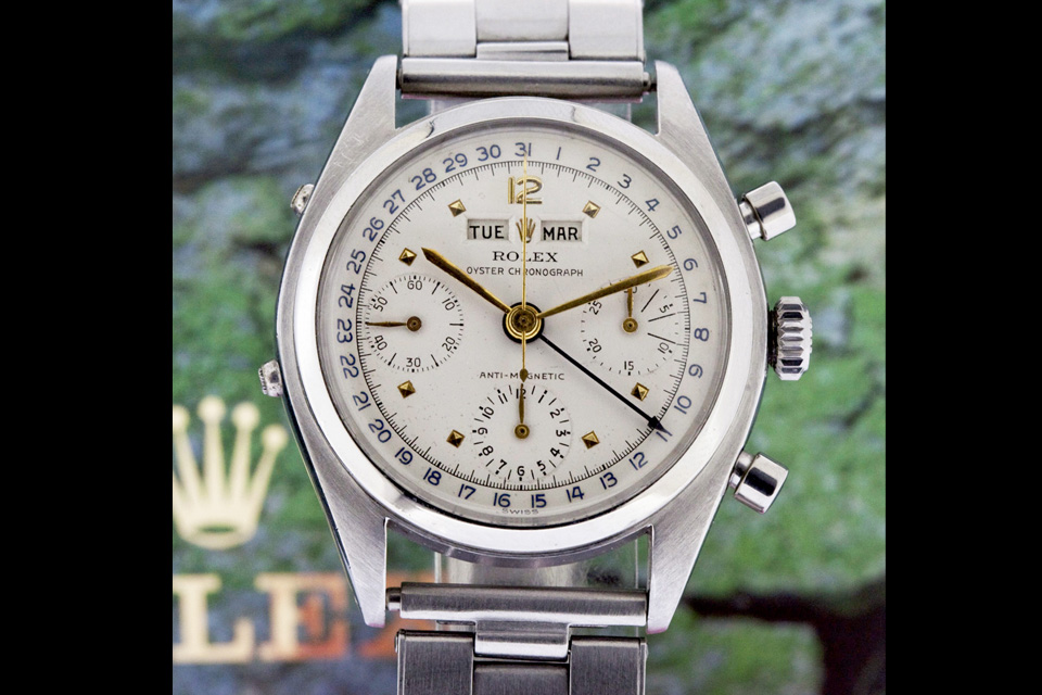 Rolex datocompax ref 6036 steel killy - 2