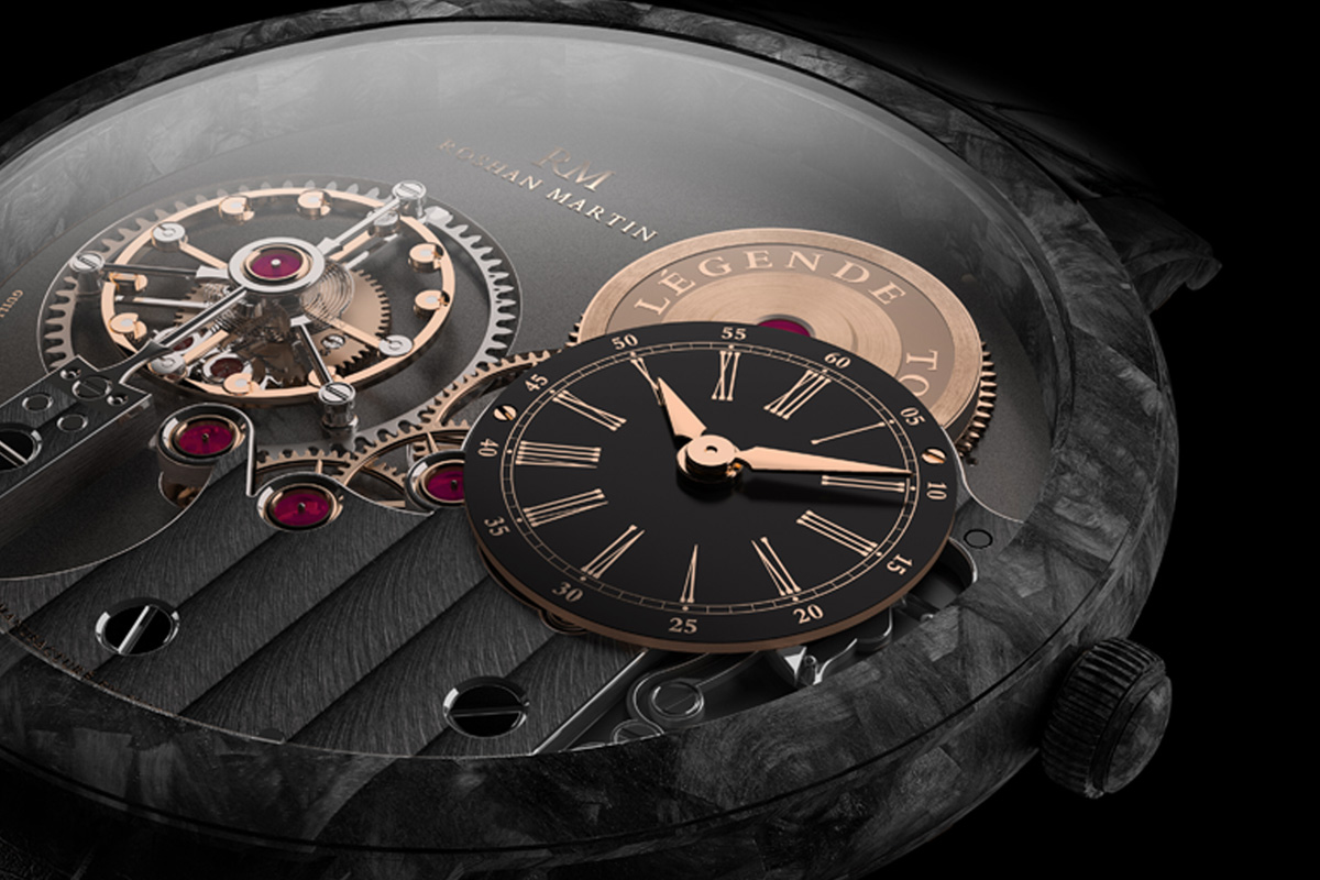 Roshan Martin Legende Tourbillon - 3