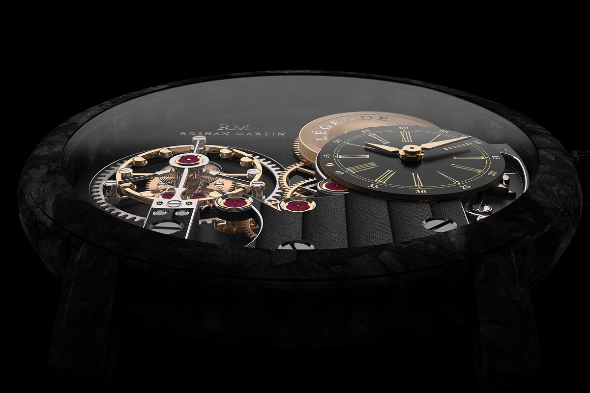 Roshan Martin Legende Tourbillon - 6