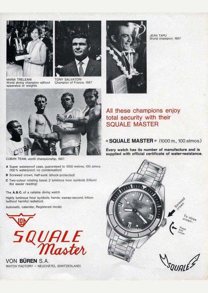squale add 1967-2
