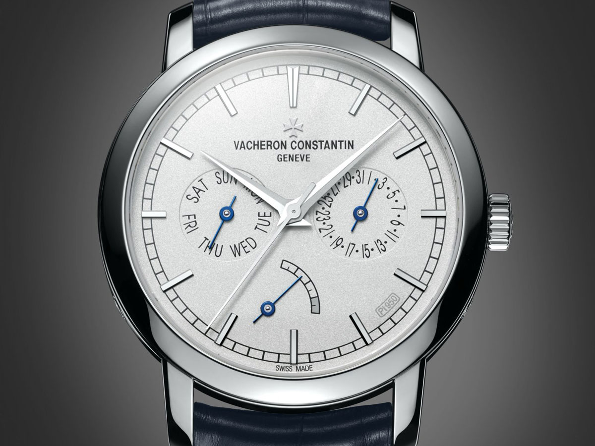 Vacheron-Constantin Traditionnelle Day-Date and Power Reserve Collection Excellence Platine