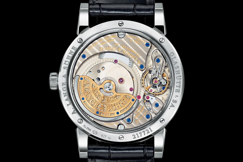 A Lange & Sohne Langematik Perpetual white gold black dial - 2