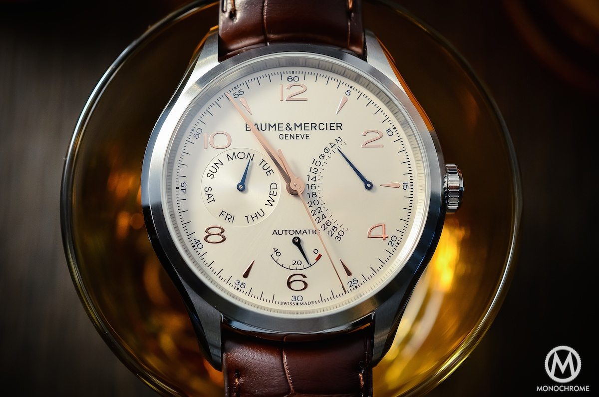 Baume & Mercier Clifton Retrograde Date - 12