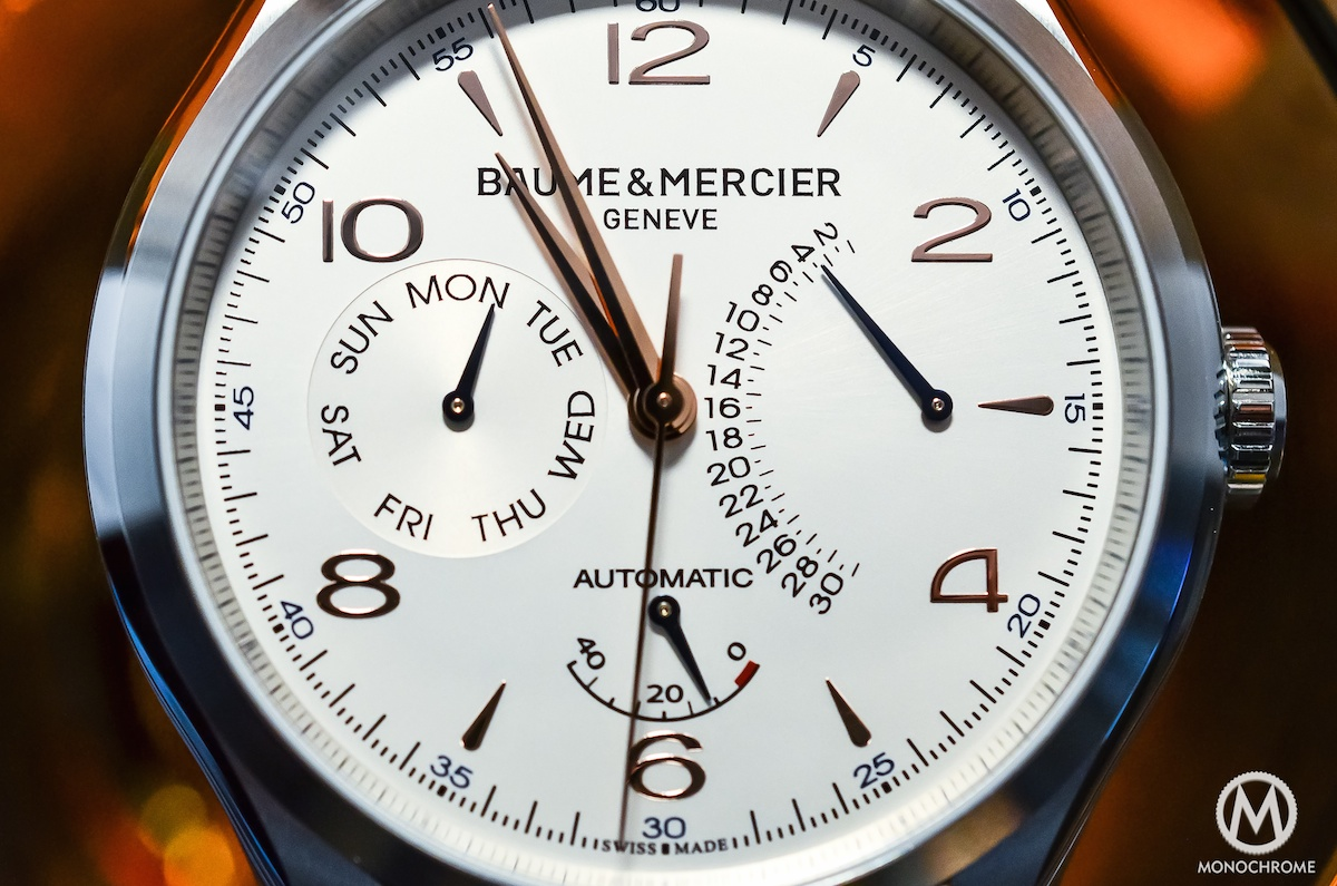Baume & Mercier Clifton Retrograde Date - 15