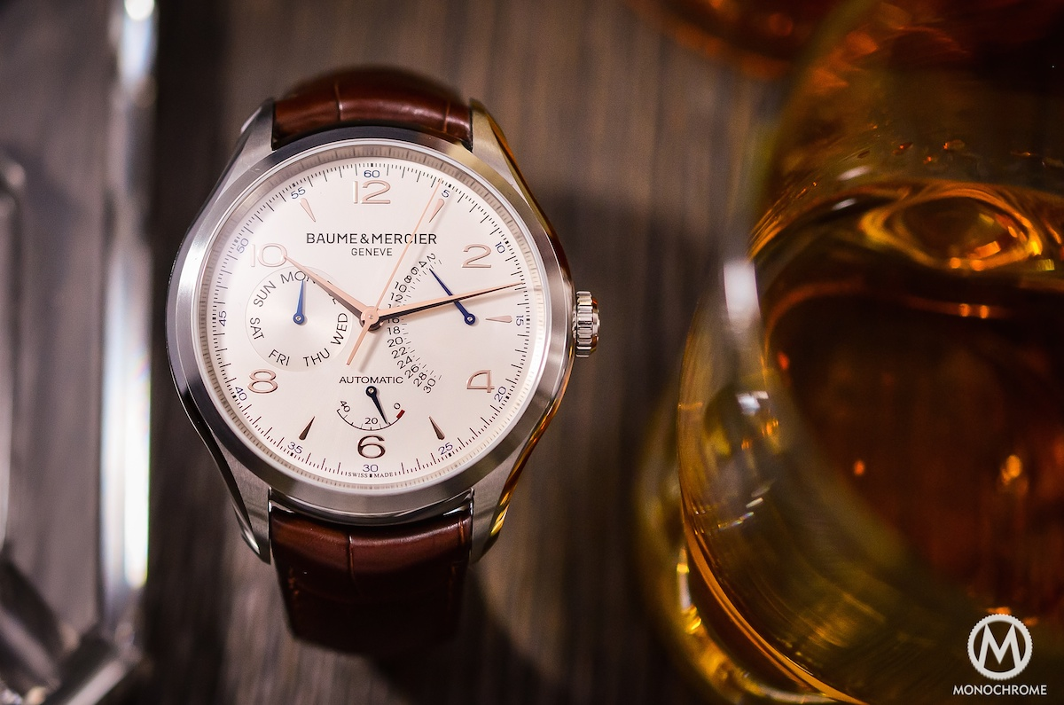 Baume & Mercier Clifton Retrograde Date - 2