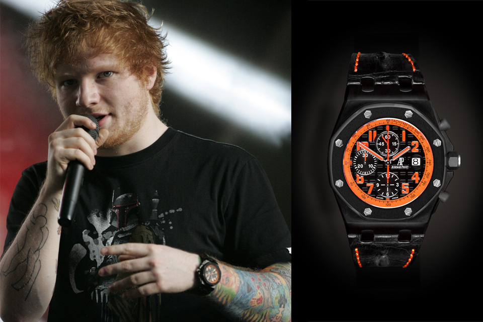 Ed Sheeran Audemars Royal Oak Offshore