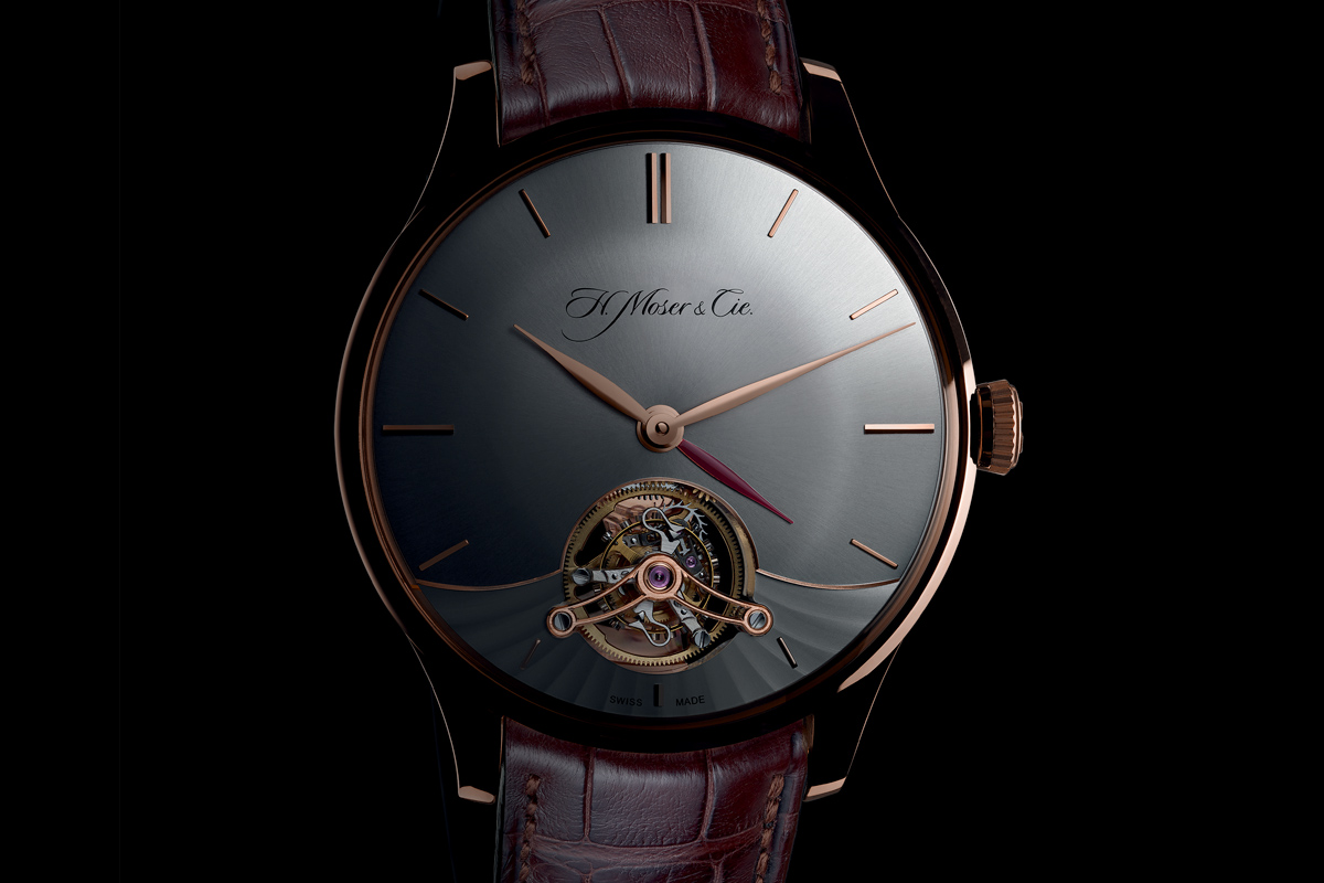 H Moser and Cie Venturer Tourbillon Dual Time - 1