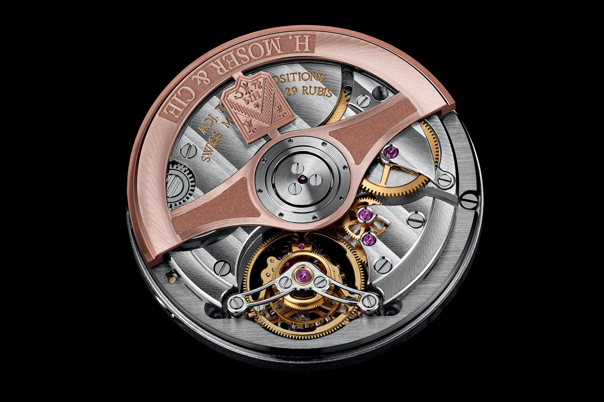 H Moser and Cie Venturer Tourbillon Dual Time - 2