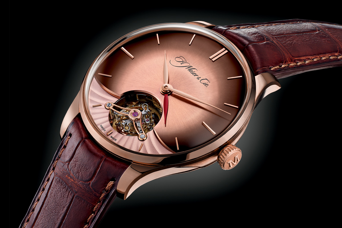 H Moser and Cie Venturer Tourbillon Dual Time - 4