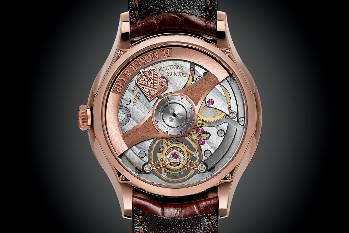 H Moser and Cie Venturer Tourbillon Dual Time - 5