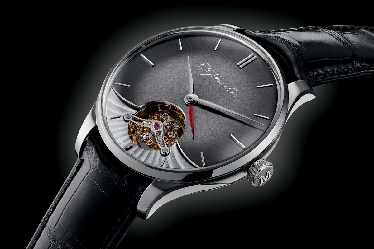 H Moser and Cie Venturer Tourbillon Dual Time - 8