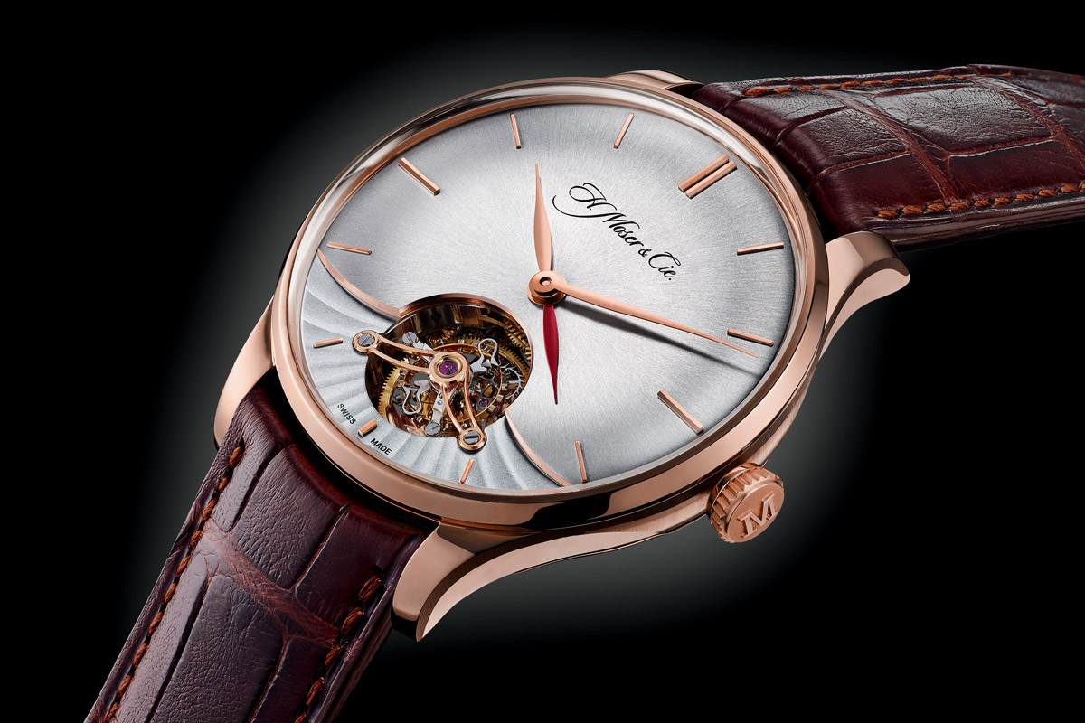 H Moser and Cie Venturer Tourbillon Dual Time - 9