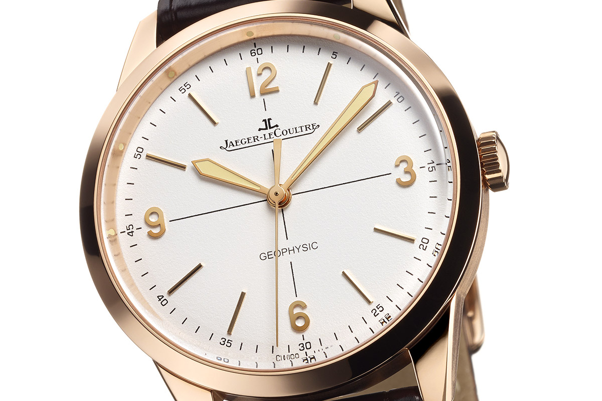 Jaeger LeCoultre Geophysic Pink gold