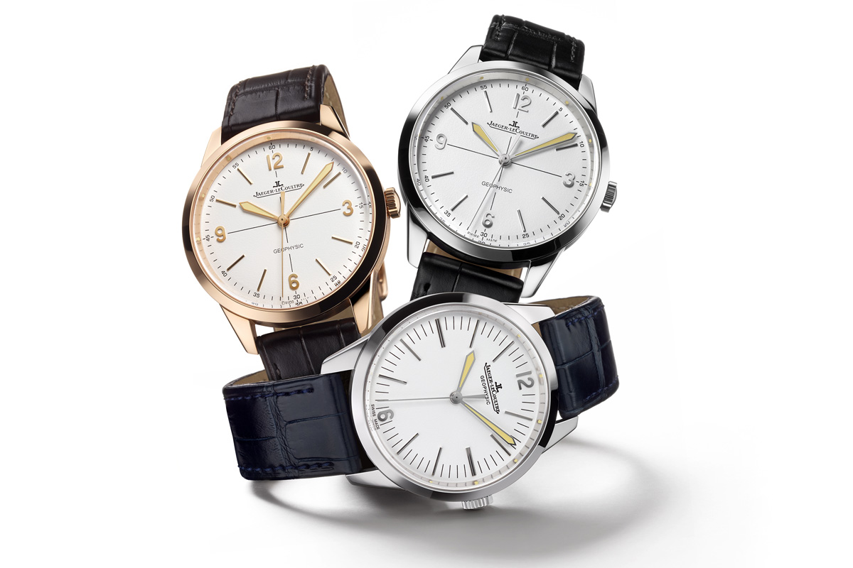 Jaeger LeCoultre Geophysic collection