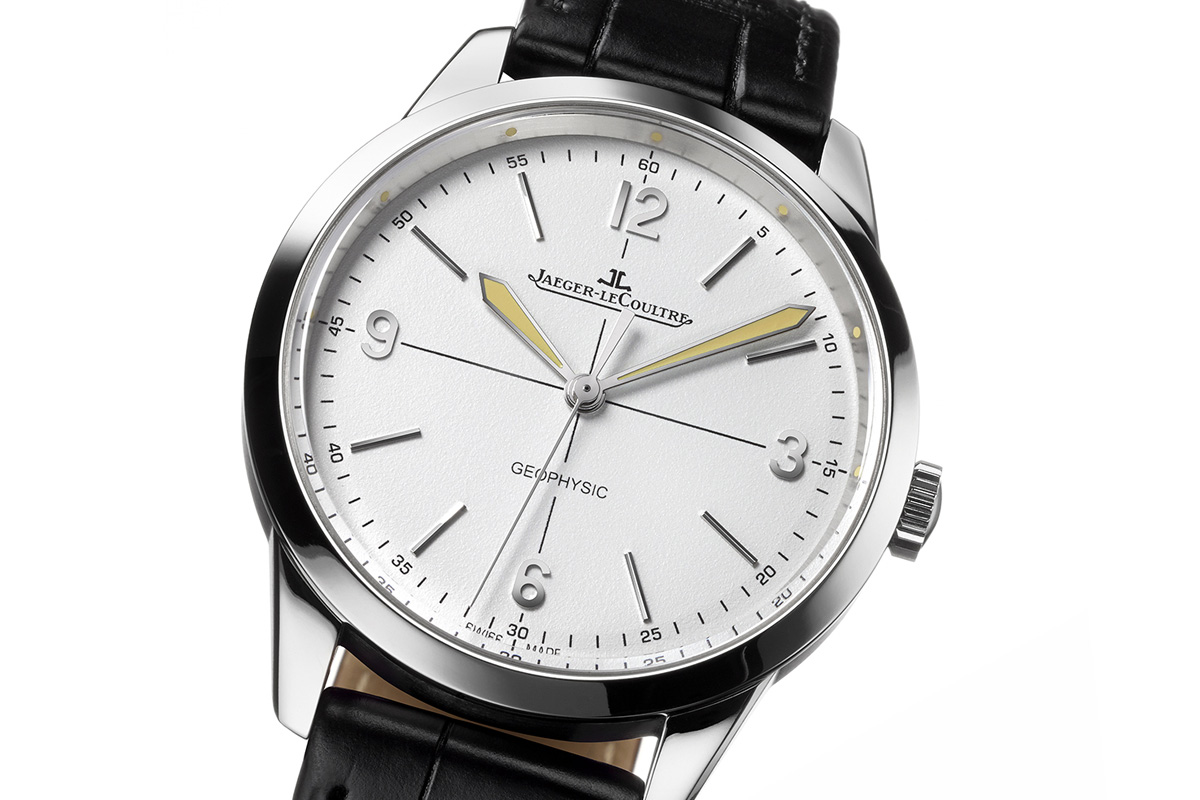 Jaeger LeCoultre Geophysic stainless steel