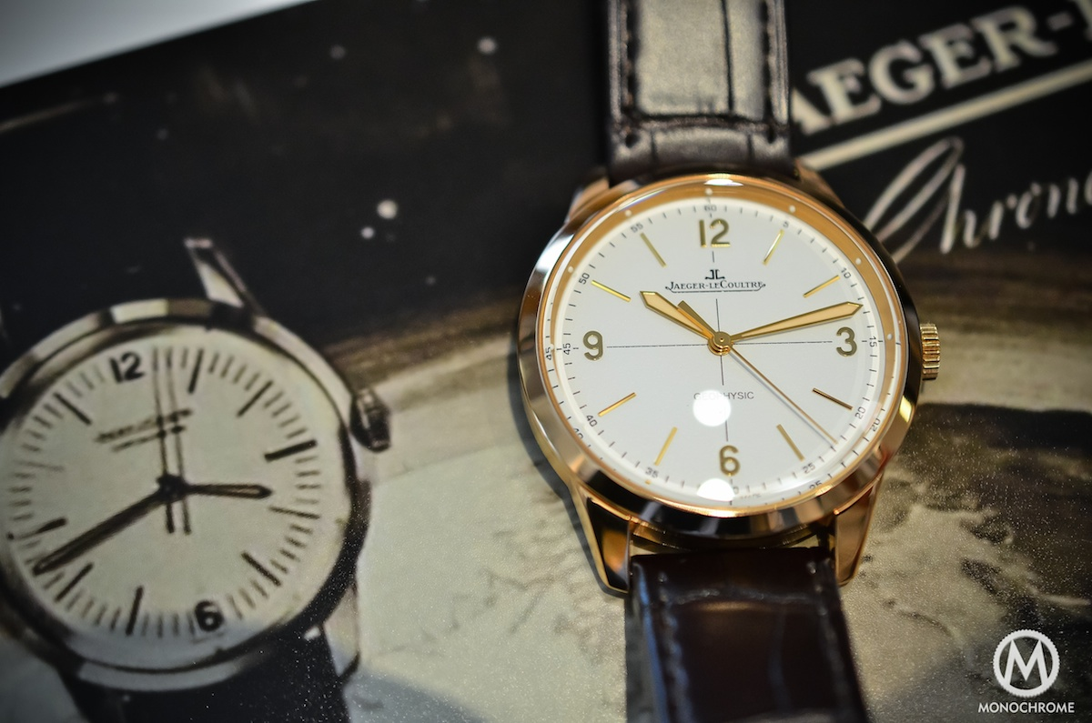 Jaeger Lecoultre Geophysic chronometer tribute 2014 Pink Gold - 1