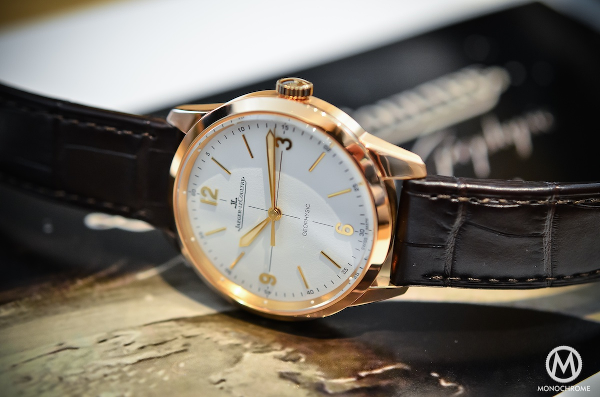 Jaeger Lecoultre Geophysic chronometer tribute 2014 Pink Gold - 2
