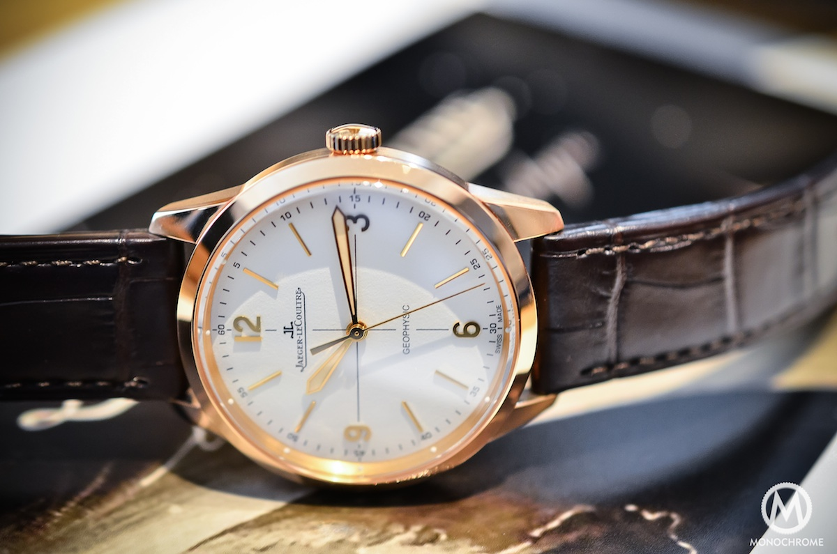 Jaeger Lecoultre Geophysic chronometer tribute 2014 Pink Gold - 3