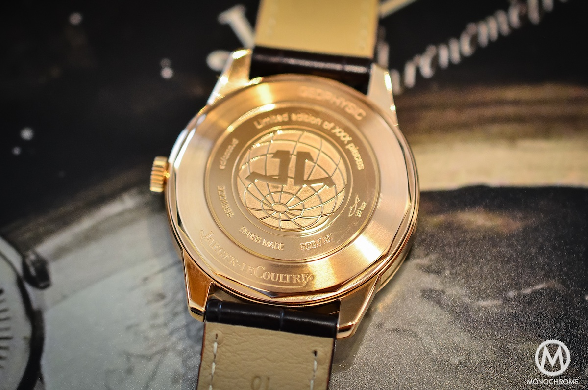 Jaeger Lecoultre Geophysic chronometer tribute 2014 Pink Gold - 4