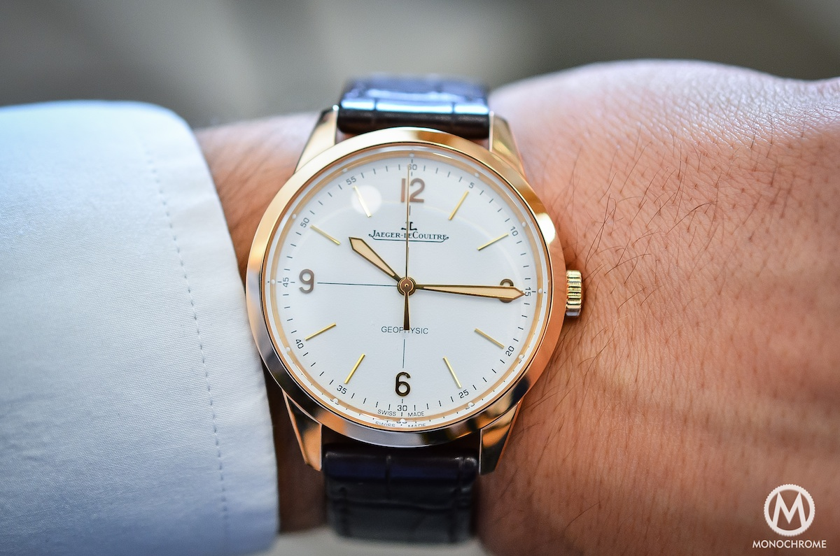 Jaeger Lecoultre Geophysic chronometer tribute 2014 Pink Gold - 5
