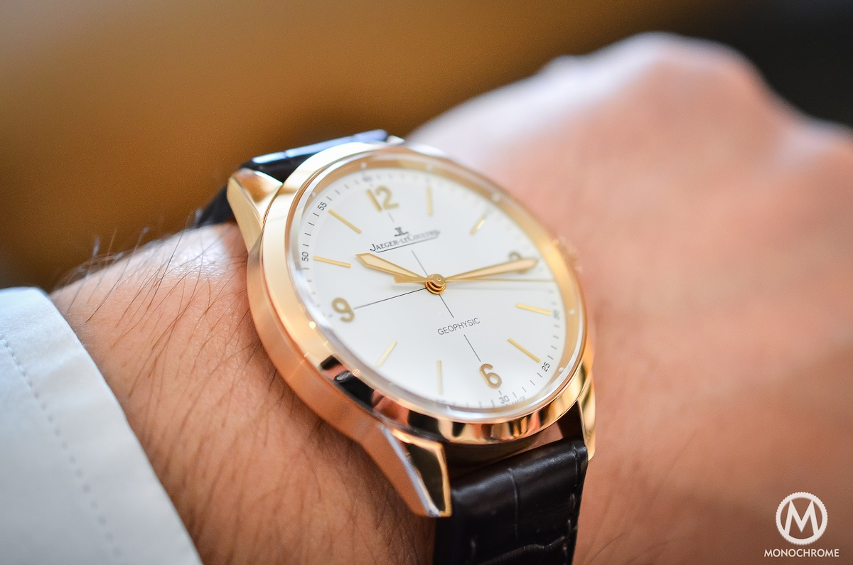 Jaeger Lecoultre Geophysic chronometer tribute 2014 Pink Gold - 6