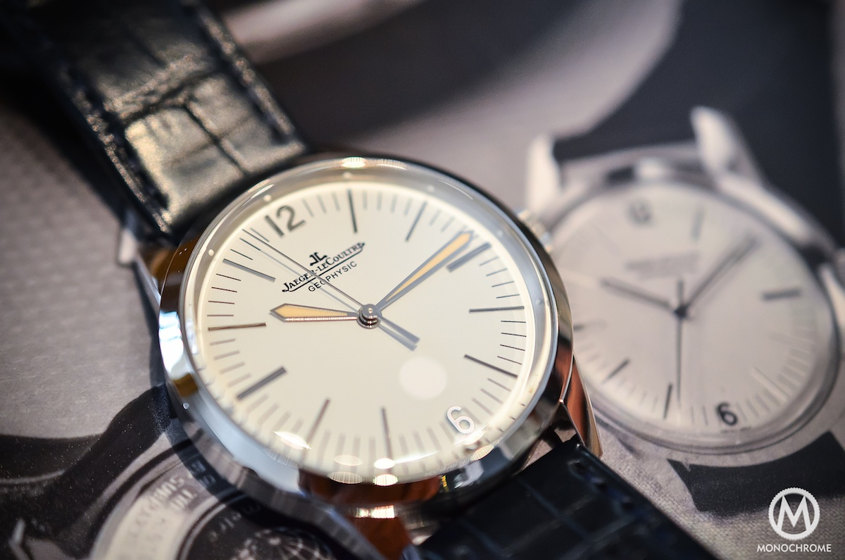 Jaeger Lecoultre Geophysic chronometer tribute 2014 Platinum - 2