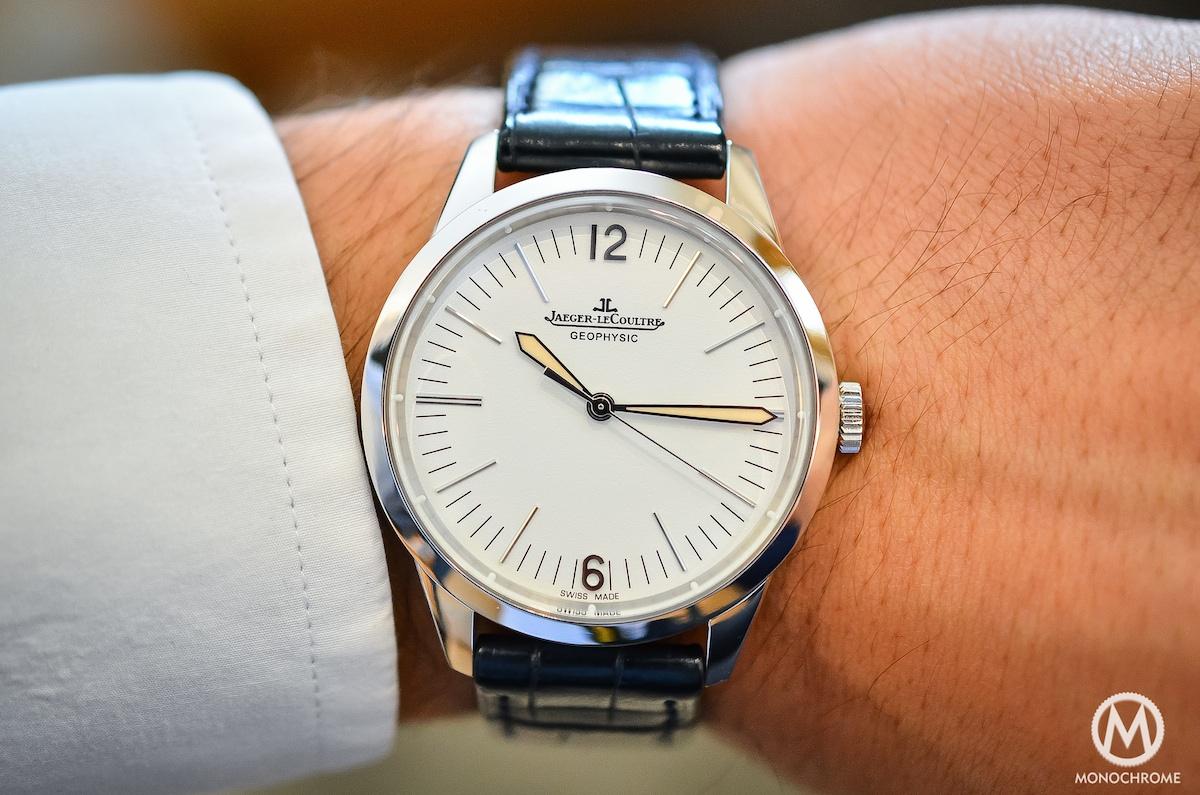 Jaeger Lecoultre Geophysic chronometer tribute 2014 Platinum - 5