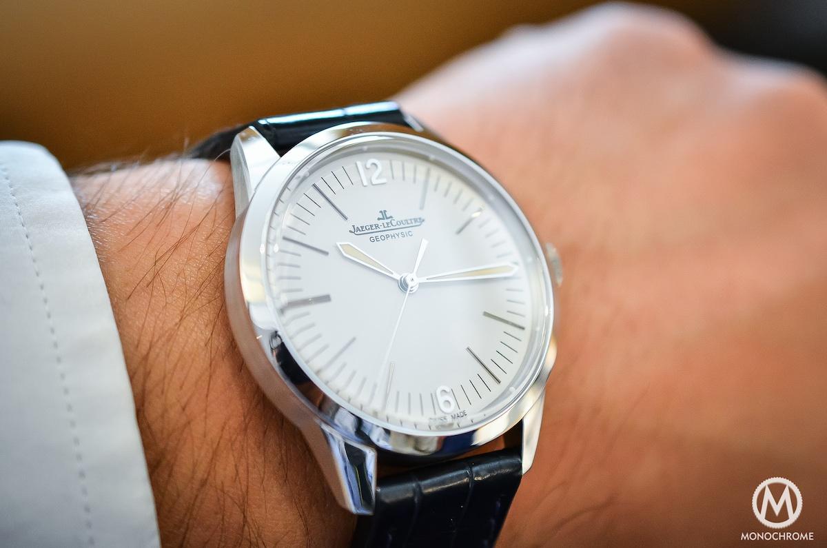Jaeger Lecoultre Geophysic chronometer tribute 2014 Platinum - 6