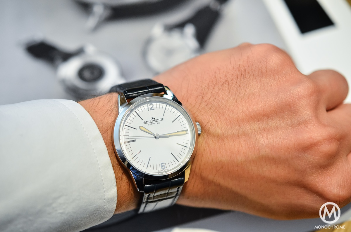Jaeger Lecoultre Geophysic chronometer tribute 2014 Platinum - 7