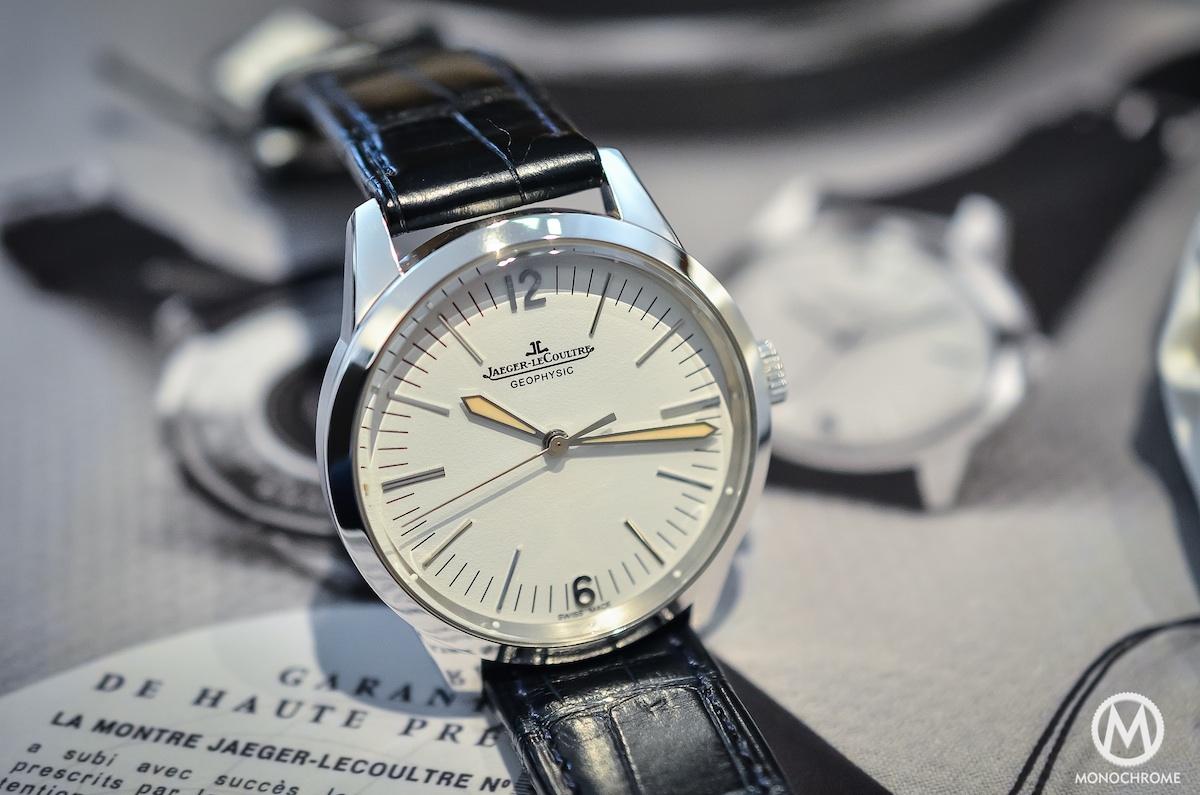 Jaeger Lecoultre Geophysic chronometer tribute 2014 Platinum - 8