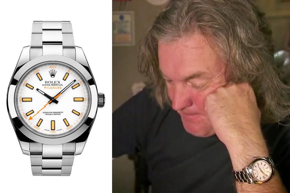 James May Rolex Milgauss