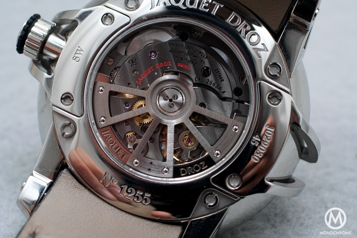 Jaquet Droz Grand Seconde SW - 8