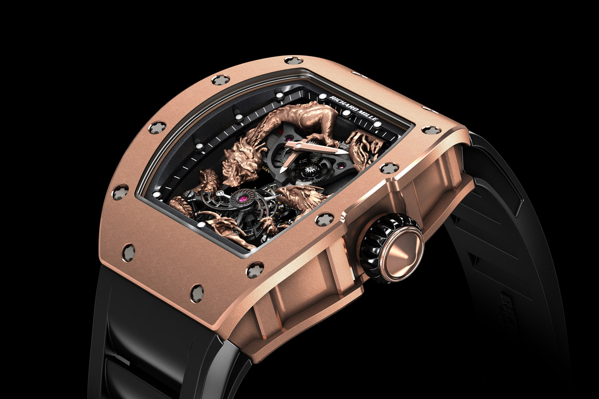 Richard Mille RM 57-01 Tourbillon Phoenix and Dragon - Jackie Chan - 1