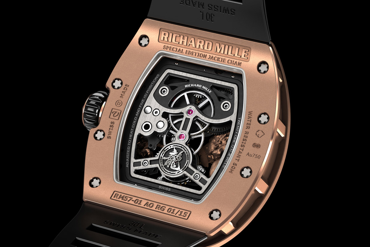 Richard Mille RM 57-01 Tourbillon Phoenix and Dragon - Jackie Chan - 3