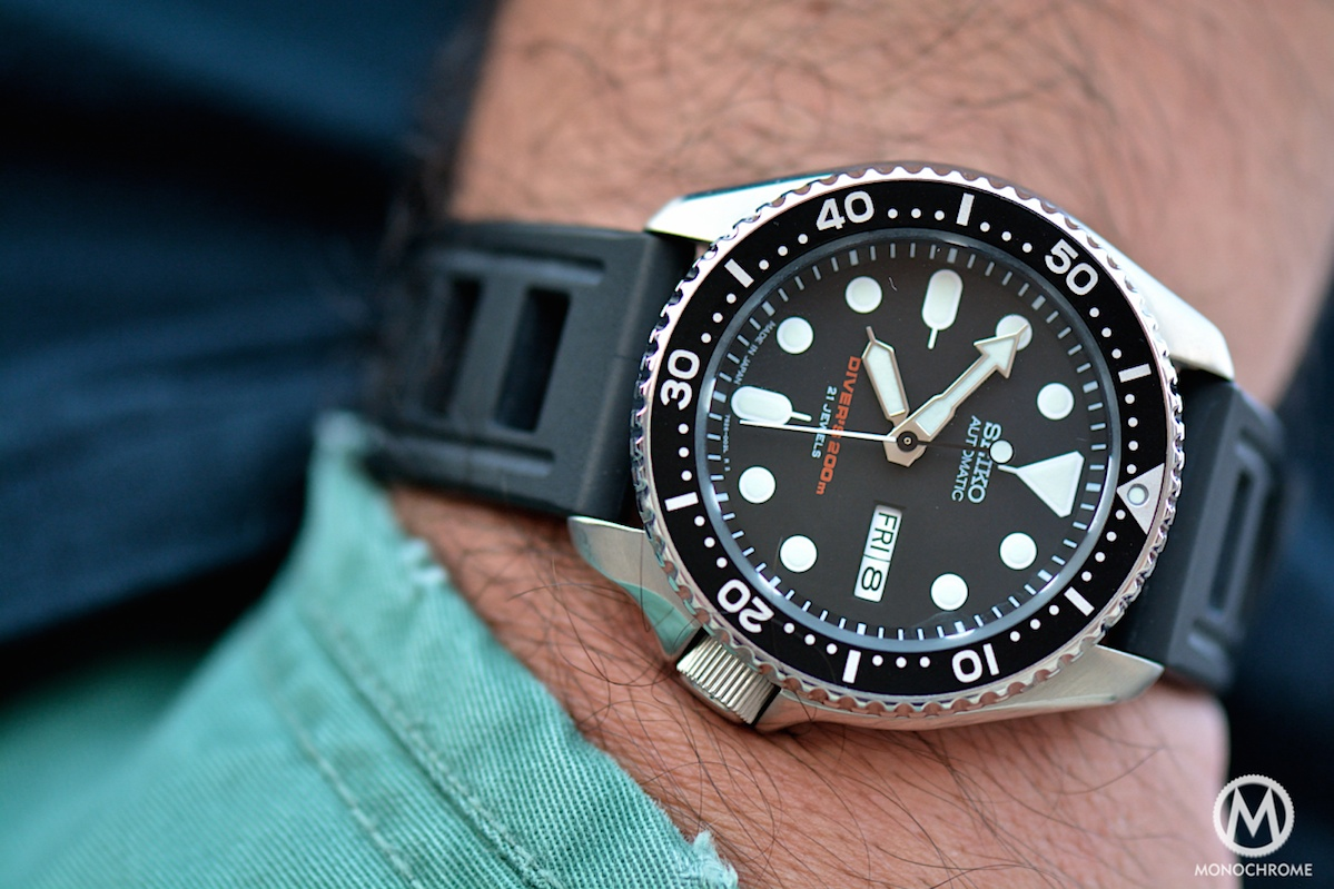 The Seiko SKX007 and its family of Seiko Beater Divers - Monochrome ... 2d7f482f2881