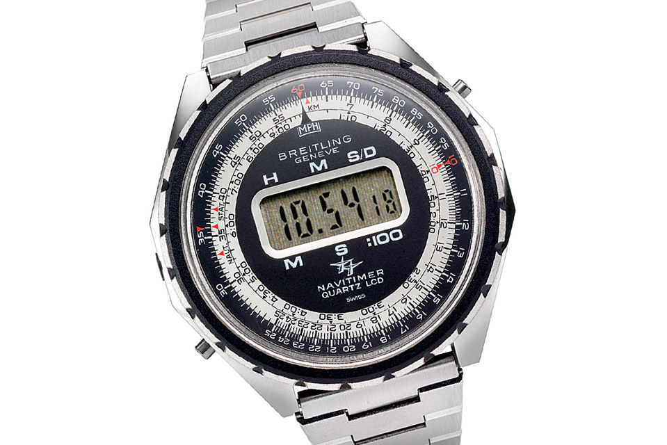 Breitling Navitimer LED digital