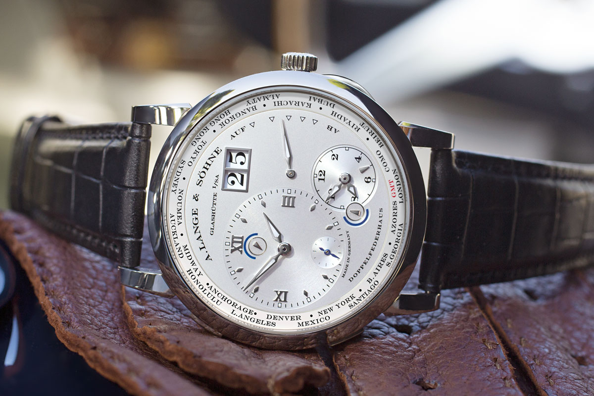 2012 - Lange 1 Time Zone Como Edition (3 watches to date)