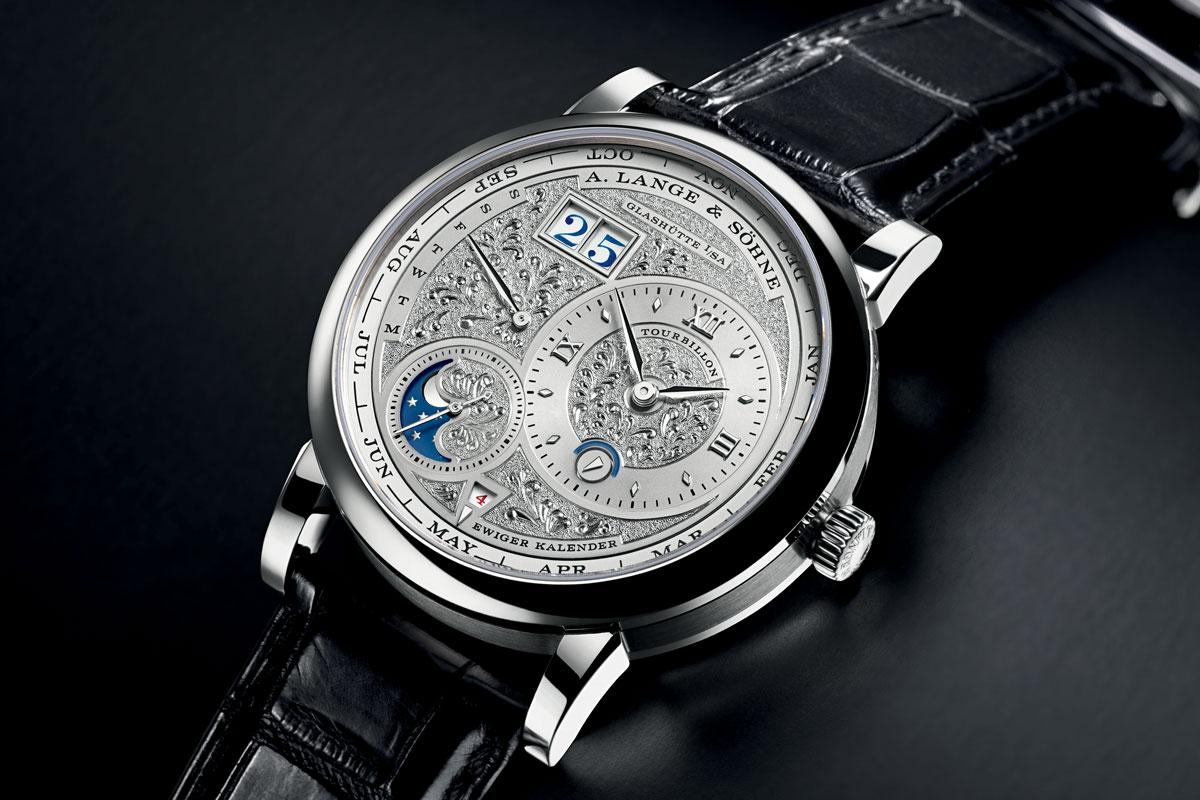 2013 - Lange 1 Tourbillon Perpetual Calendar Handwerkskunst (limited to 15 watches)