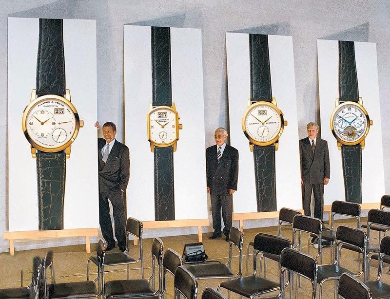 1994 Press Presentation Lange Soehne