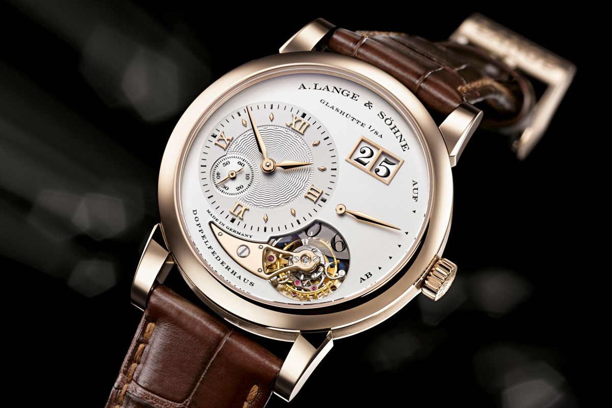 """2010 - Lange 1 Tourbillon """"165 Years Homage to F.A.Lange"""" (limited to 150 watches)"""