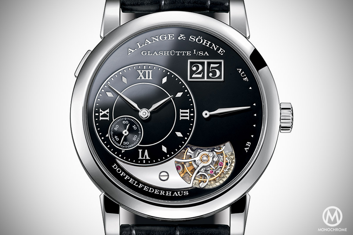 A. Lange and Sohne Lange 1 Tourbillon Handwerkskunst black enamel 20th anniversary - 2