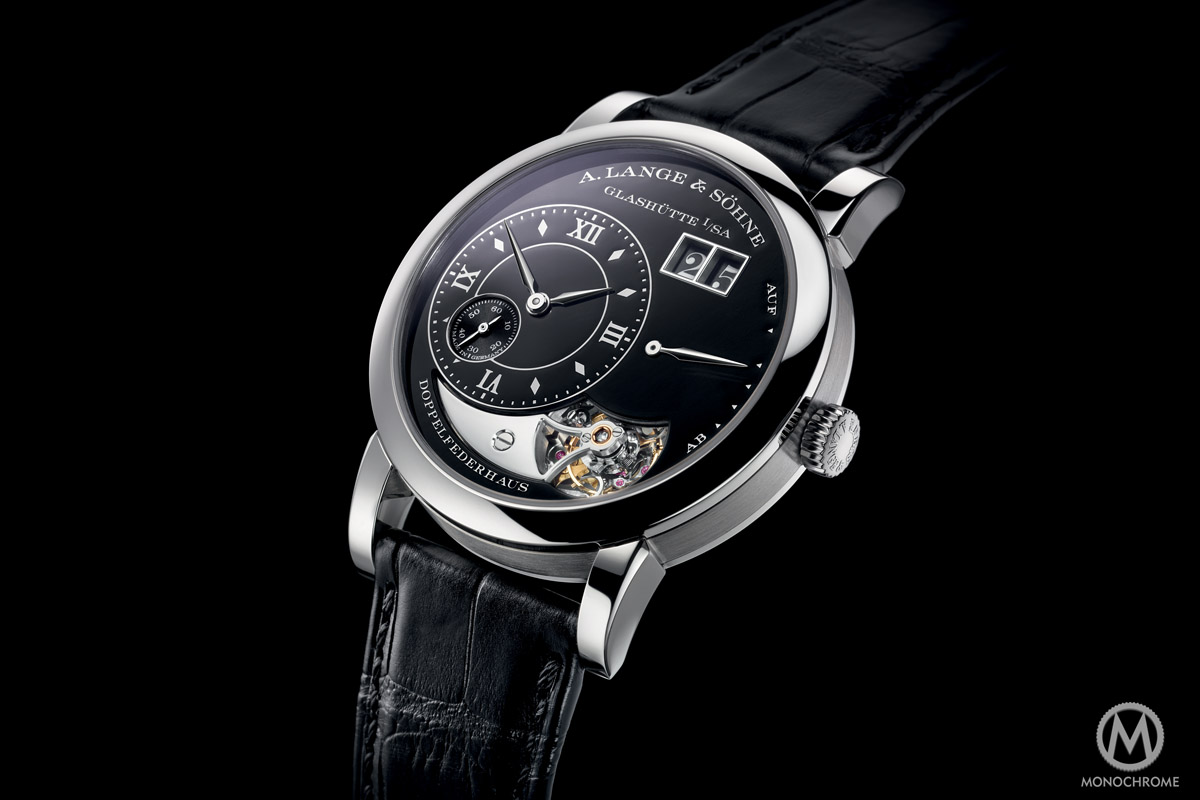 A. Lange and Sohne Lange 1 Tourbillon Handwerkskunst black enamel 20th anniversary - 6