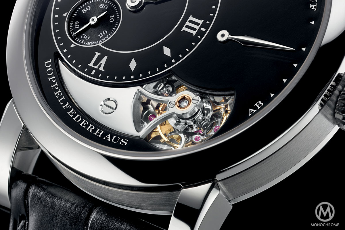 A. Lange and Sohne Lange 1 Tourbillon Handwerkskunst black enamel 20th anniversary - 8