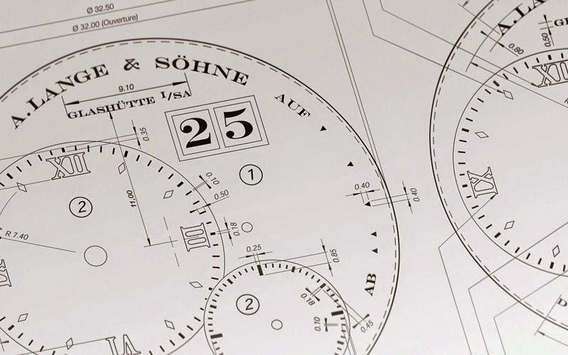 Lange & Söhne Lange1 blueprint