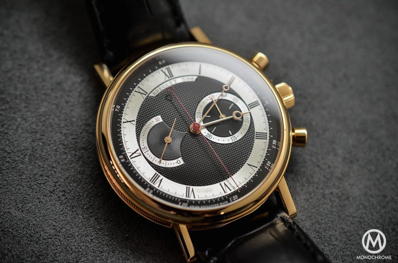 Breguet Classique Chronograph 5287 pink gold black dial - 1